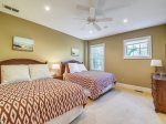 Guest Bedroom with Two Queen Beds at 7 Armada