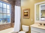 Private Guest Bathroom with Shower/Tub Combo at 7 Armada