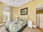 Upstairs Room with Queen Bed at 3 Iron Clad