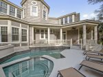 Pool and Spa at 3 Iron Clad