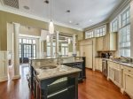 Large Open Kitchen at 3 Iron Clad