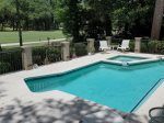 Pool and Hot Tub Overlooking Golf Course at 18 Woodbie
