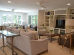 Large Living Room with Flat Screen TV at 18 Woodbine