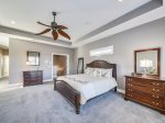 Master Bedroom with Private Bath at 90 Sandcastle Court