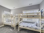 Guest Bedroom with Bunk Beds at 90 Sandcastle Court