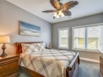 Guest Bedroom with Queen Bed at 90 Sandcastle Court