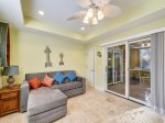 1st Floor Den with Access to Pool Deck at 90 Sandcastle Court
