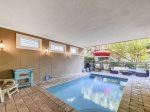 Covered Pool at 90 Sandcastle Court
