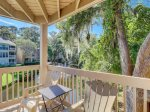 Private Deck at 2388 Lighthouse Tennis Villa