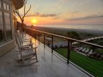 Enjoy the Beautiful Sunrise from the Deck at 10 Sea Hawk Lane