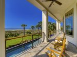Large Deck with Direct Ocean Front Views at 10 Sea Hawk Lane