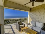 Second Level Covered Sitting Area with Ocean Views at 10 Sea Hawk Lane