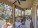 Screened Porch off Living Room at 216 Cordillo Parkway
