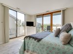 Guest Room with Balcony Access at 223 Shorewood