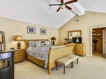 Master Bedroom with King Bed at 15 Deer Run Lane