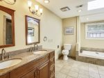 Master Bathroom at 15 Deer Run Lane