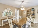 Dining Table with Seating for Six at at 15 Deer Run Lane