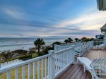 Enjoy the Beautiful Lowcountry Sunsets from your Private Deck at 95 Dune Lane