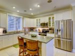 Kitchen with Stainless Steel Appliances at 95 Dune Lane