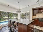 Large Kitchen Island at 37 Heritage Road