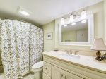 Guest Bathroom with Shower/Tub Combo at 8 Windjammer