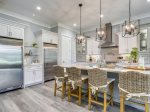 Kitchen with Stainless Steel Appliances at 28 Stoney Creek