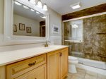 Master Bathroom with Walk-in Shower at 4401 Island Club