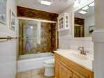 Guest Bathroom at 4401 Island Club