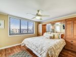 Master Bedroom with Ocean Views at 3501 Island Club