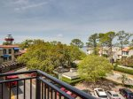Views of Calibogue Sound and Lighthouse from Balcony of 683 Mariners Way