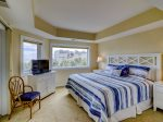 Master Bedroom with King Bed and Ocean Views at 336 Shorewood