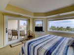 Master Bedroom with Access to Balcony at 336 Shorewood