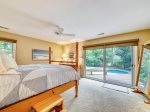 Master Bedroom with Access to Pool Area at 33 Battery Road