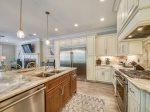 Kitchen with All Stainless Steel Appliances at 29 Pelican