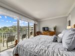 Access to Balcony off Master Bedroom at 1206 SeaCrest
