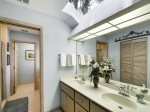 Master Bathroom with Double Vanity at 12 N Live Oak