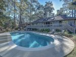 Large Pool Area at 12 N Live Oak