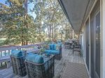 Back Deck with BBQ Grill at 12 N Live Oak