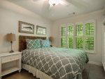 Queen Guest Room at 152 N Sea Pines Drive