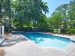 Pool and Spa at 152 N Sea Pines Drive