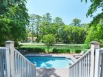 Pool and Spa Overlooking Lagoon at 152 N Sea Pines Drive