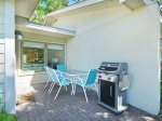 Private Back Patio with BBQ Grill at 9 Lighthouse Road