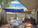 Private Back Patio with BBQ Grill at 508 Queens Grant