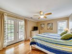 Master Bedroom with Access to Deck at 7 Cassina Lane
