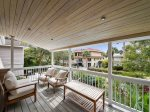 Top Porch offers glimpse of the ocean from 7 Cassina Lane