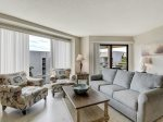 Living Room with Balcony Access at 1505 Villamare