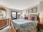 Master Bedroom with King Bed and Balcony Access at 1505 Villamare