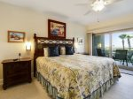 Master Bedroom with King Bed at 402 Captains Walk