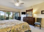 Master Bedroom with Ocean Views at 402 Captains Walk