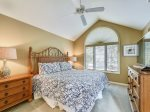 Upstairs Guest Bedroom with King Bed at 1 Twin Pines